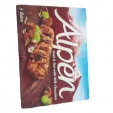 Alpen bar fruit and nut with chocolate 145 grams