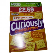 Nestle curiously cinnamon 375 grams