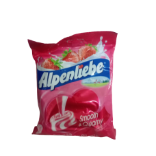 ALPENLIEBLE CANDY BAG STRAWBERRY 125GM