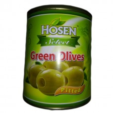 Hosen pitted green olives 3000grams