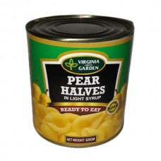 Virginia Pear halves in light syrup 820gm