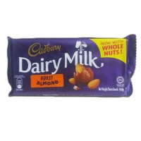 Cadbury  dairy milk Roast almond 165gm