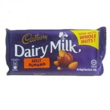 Cadbury  dairy milk Roast almond 165gm