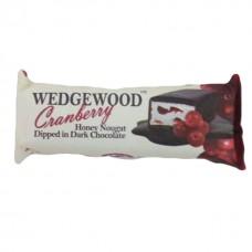 Dark chocolate cranberry nougat 40 grams