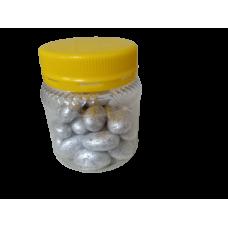 Silver color almond chocolates 100grams