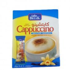Coffee break instant cappuccino vanilla 18.5g