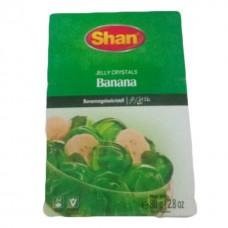 Shan halal crystal jelly banana 80 grams