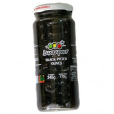 Luxe Pitted Black Olives 345g
