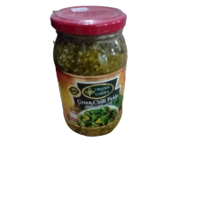 VIRGINIA GREEN CHILLI PICKLE 400GM