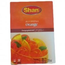 Shan halal crystals jelly orange 80 grams