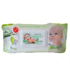Farmasi Baby Wipes Olive Oil 70s