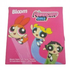 Bloom the power puff girls facial tissue 70 sheets
