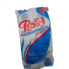 Rosy white toilet tissue 8s