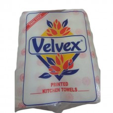 Velvex kitchen tow print ( twin pack ) 245