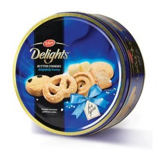 Delight butter cookies 405grams per tin