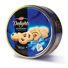 Delight butter cookies 405grams per tin