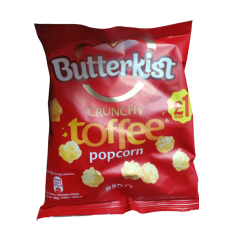 BUTTERKIST POPCORN TOFFEE 85GM