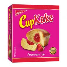 HILAL CUP CAKE STRAWBERRY  12*22GM
