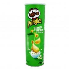 Pringles sour cream and onion 165 grams