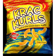 Krac Kurls Cheese Tangy 25g
