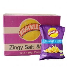 Krackles Salt and Vinegar 150g
