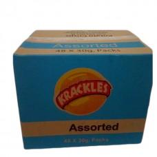 Krackles assorted 30 grams