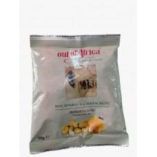 OUT OF AFRICA HONEY MIXED NUTS 50GM
