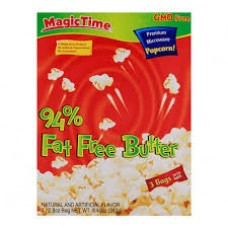 94%  FAT  FREE BUTTER POPCORN 240GM