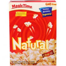 MAGIC TIME  NATURAL POPCORN 240GMS