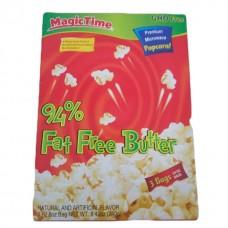 Mt 94% fat free butter popcorn 240 grams