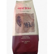 OUT OF AFRICA COFFEE BEANS DARK 250GM