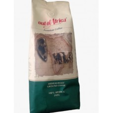 OUT OF AFRICA COFFEE BEANS MEDIUM 250GM
