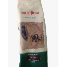 OUT OF AFRICA GROUND COFFEE MEDIUM 250GM