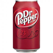 DR PEPPER CAN SODA 330ML