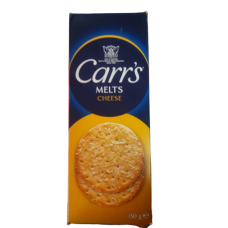 CARR'S MELTS CHEESE BISC 150GM